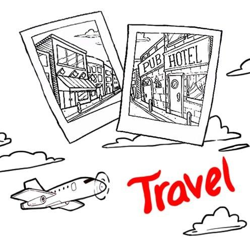 AdToonsAd-Travel