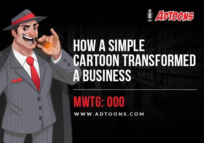 Cartoon Marketing with the Godfather
