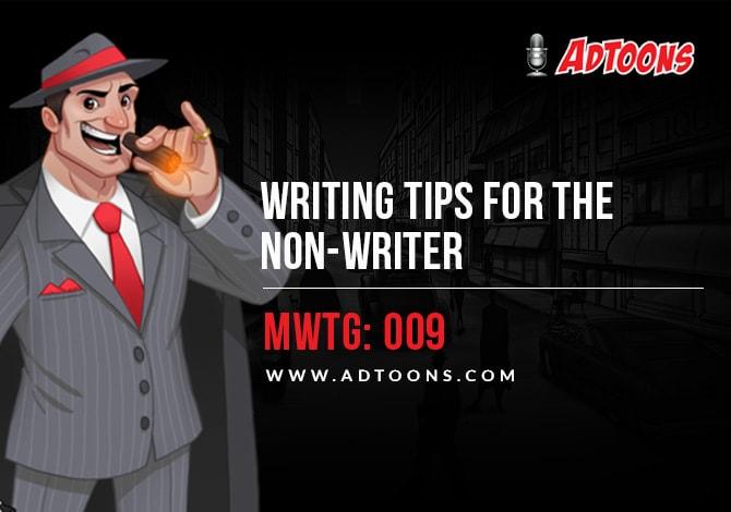 Non-Writer Adtoons