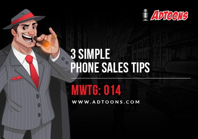 Phone Sales Tips AdToons